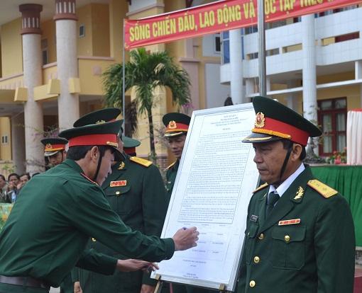 Lý Sơn: Tổ chức lễ ra quân huấn luyện năm 2016 - Hình 3
