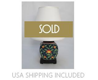 Accent Lamp Japanese Porcelain