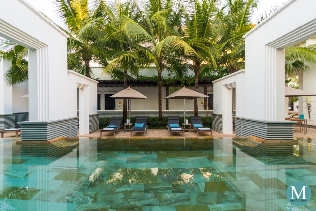 swimming pool for Park Hyatt Siem Reap