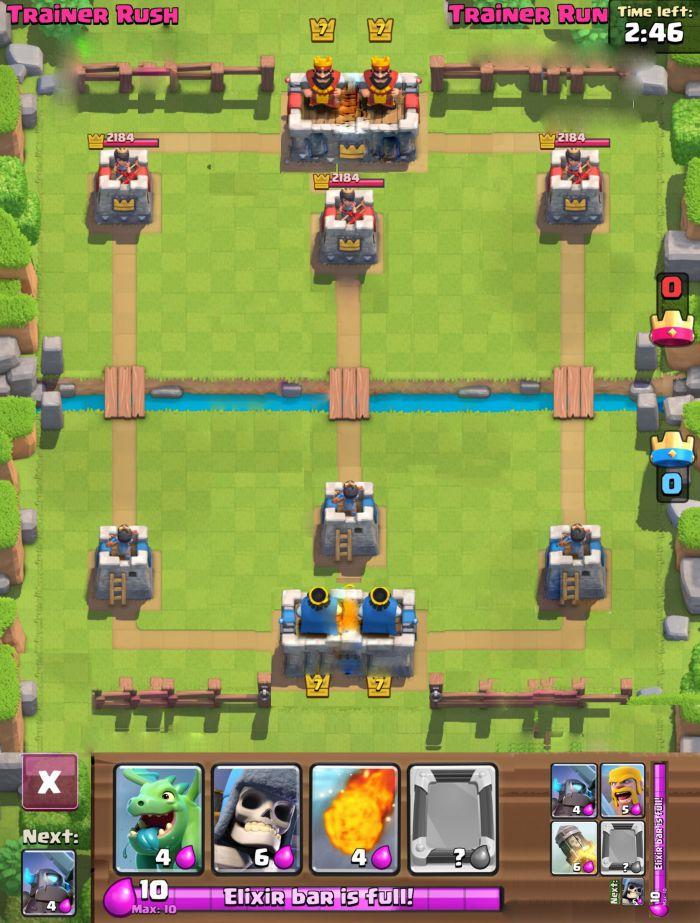 clash royale 2v2 co-op battle