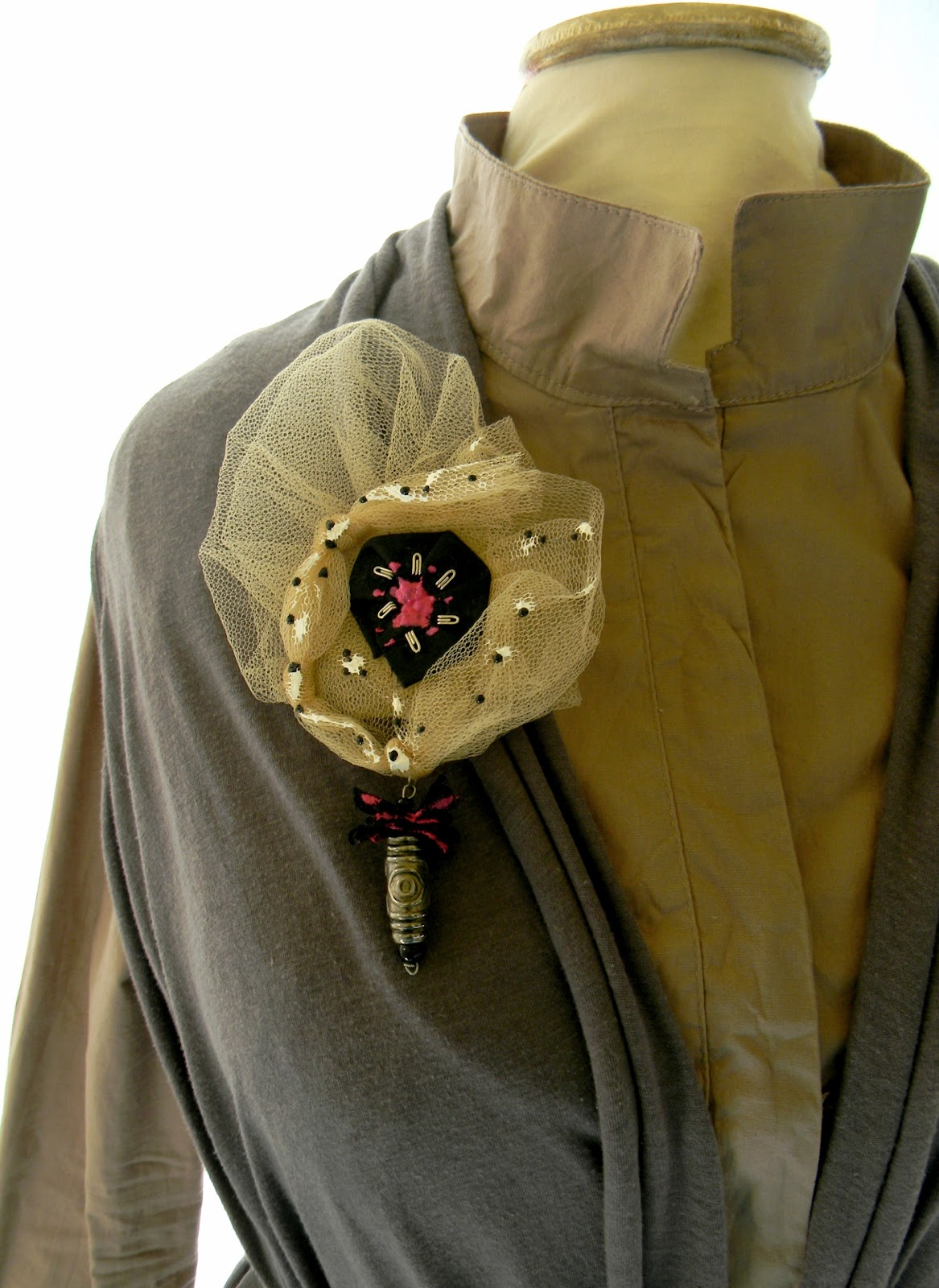 """Laurie"" Brooch"