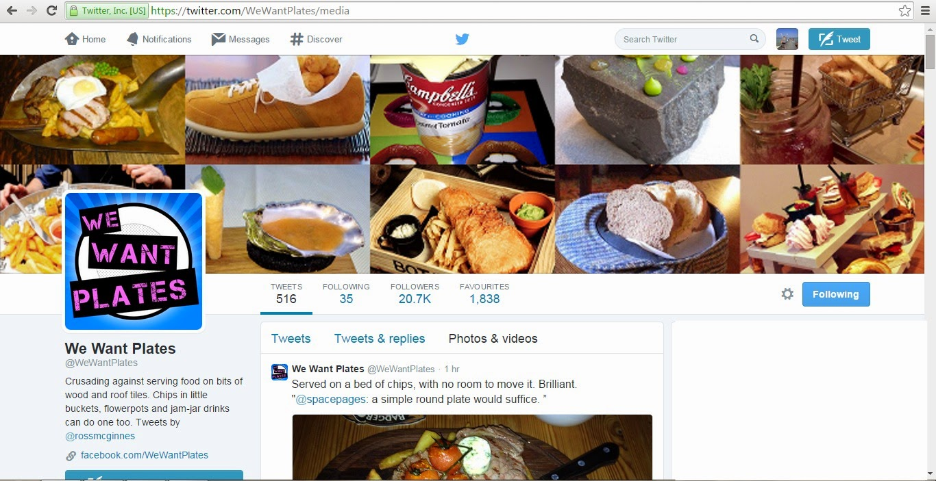 Twitter accounts you should follow We Want Plates