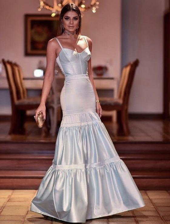 vestido de festa corpete Thássia Naves