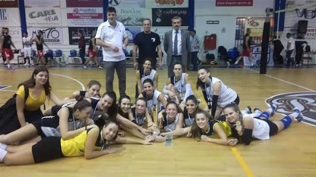 Στο Ναύπλιο πανηγύρισαν τον πρώτο τίτλο της χρονιάς τα κορίτσια της Ένωσης Αθλοπαιδιών Πατρών (ΕΑΠ)