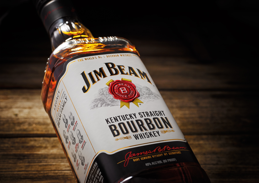 Jim Beam New Brand Architecture And Design On Packaging