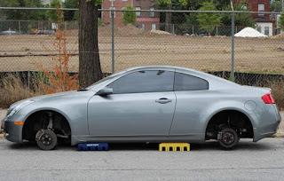 bila pada masa dahulu banyak pelaku kejahatan menyasar sebuah mobil baru untuk dicuri ata Waspada Pencurian Velg Mobil Tips Agar Velg Mobil Tidak Dicuri