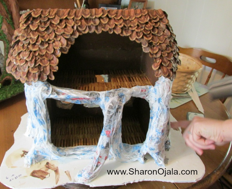 How Alicia Made Her Woodland Fairy House