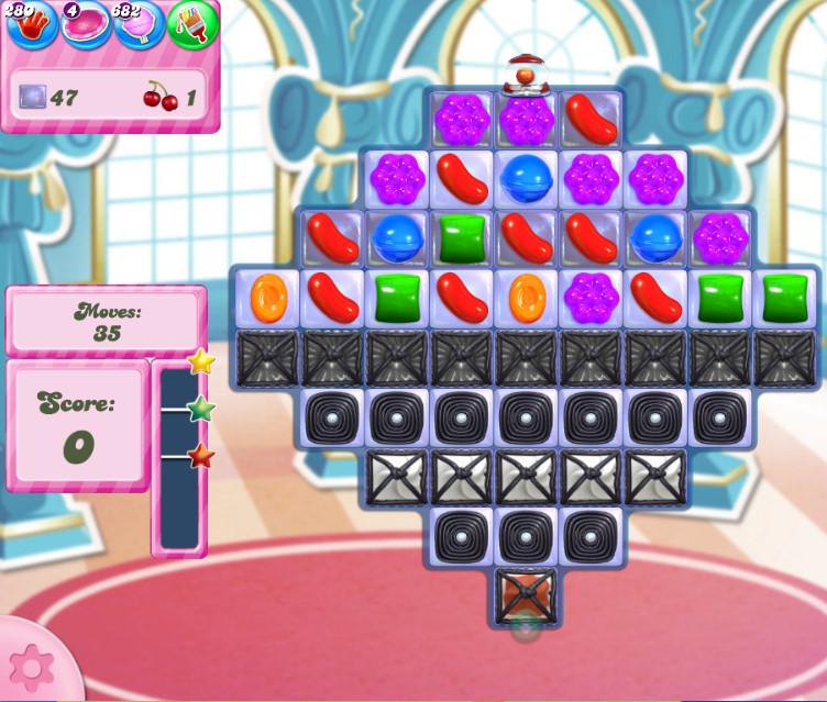 Candy Crush Saga level 2740