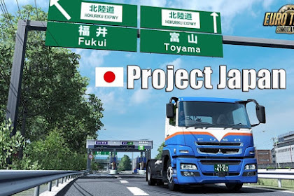 How to Download Mod Project Japan for Euro Truck Simulator 2 (ETS2) on Computer or Laptop