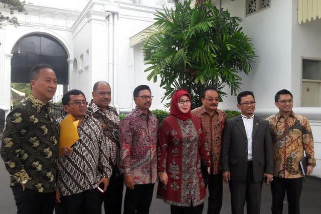 Seluruh Elite DPR Di Kumpulkan Jokowi Dari Partai Pemerintah, PAN Tidak Diundang