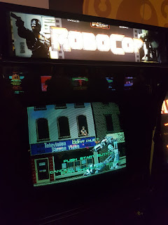 RoboCop at Arcade Club in Bury