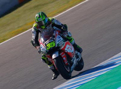 Crutchlow Habiskan 70 Lap Tes MotoGP di Jerez