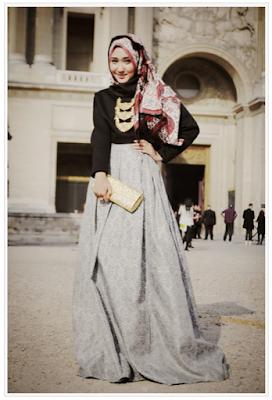 Baju Muslim Modern Brokat Dian Pelangi
