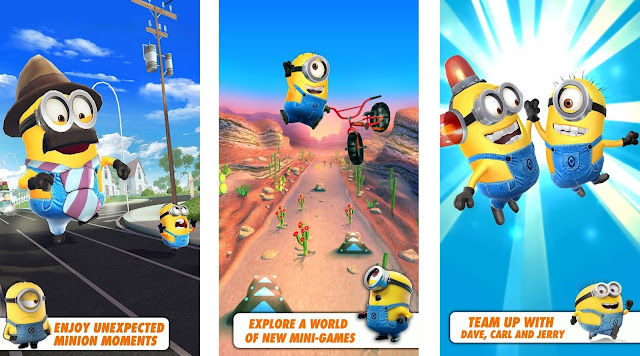Despicable Me Mod Apk+Data Unlimited Money