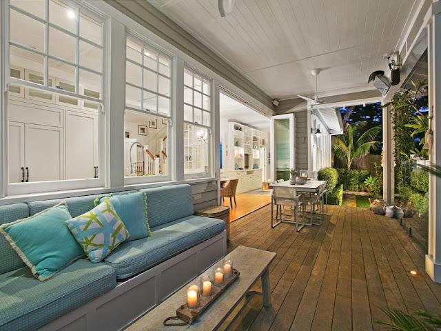 Stunning hamptons style beach house in collaroy desire for Beach house look