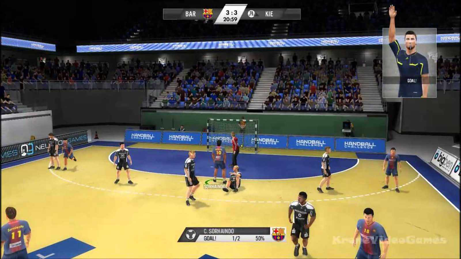 تحميل لعبة 14 Handball Challenge مضغوطة كاملة بروابط مباشرة مجانا