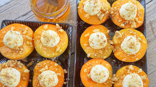 Stuffed Apricot with Ricotta Cheese