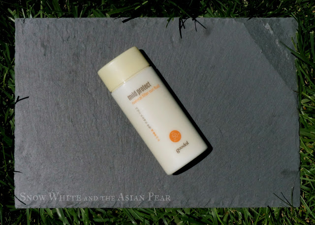 Goodal Mild Protect Natural Filter Sun Fluid SPF50+ PA++++ Review