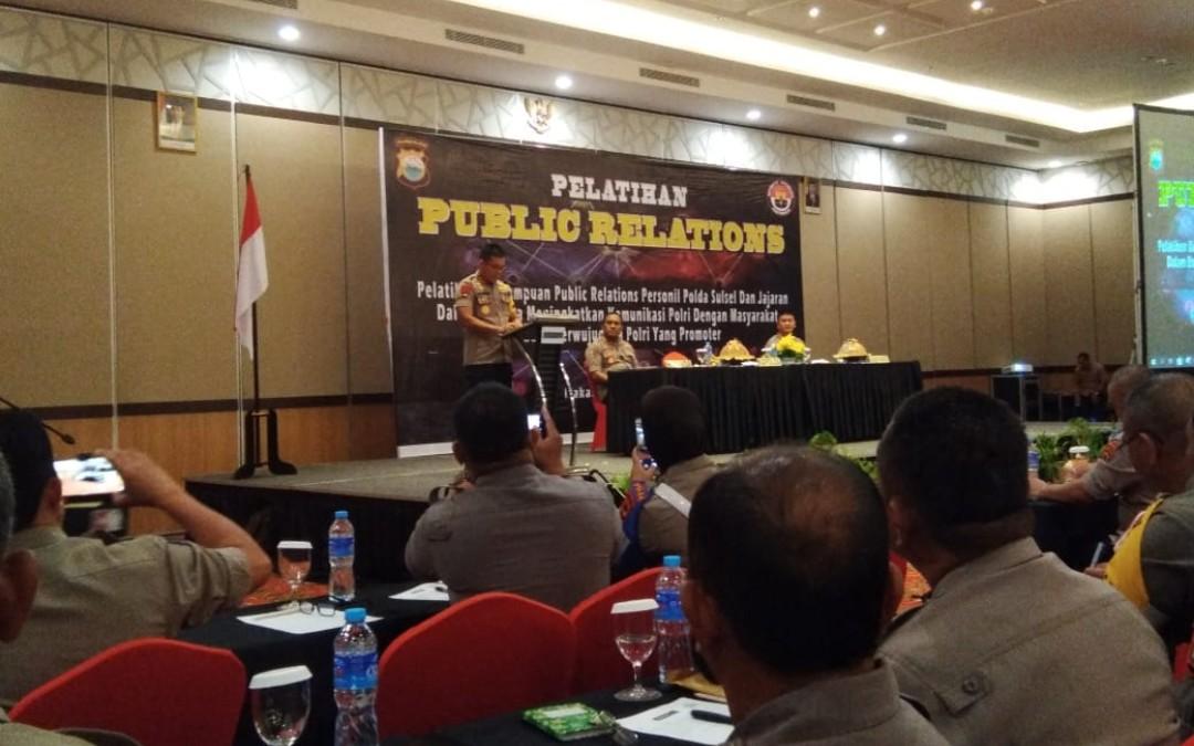 5 Pama Polres Tana Toraja Ikut Pelatihan Public Relations, Kapolda Sulsel: Bina Hubungan Baik dengan Media