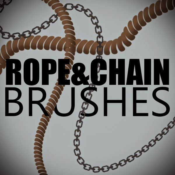 10 Rope and Chain Brushes — Photoshop Add-ons