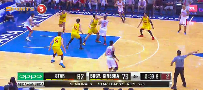 Ginebra def. Star Hotshots, 73-62 (REPLAY VIDEO) Semis Game 3 / February 13