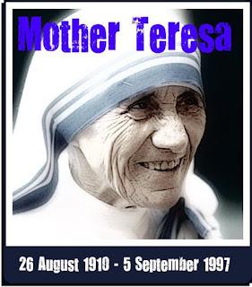 KUMPULAN KATA BIJAK MOTHER TERESA