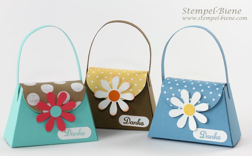 Stampin' Up Bigz L Mini-Tasche; Stampin' Up Sammelbestellung, Stampin' Up Jahreskatalog 2014-2015