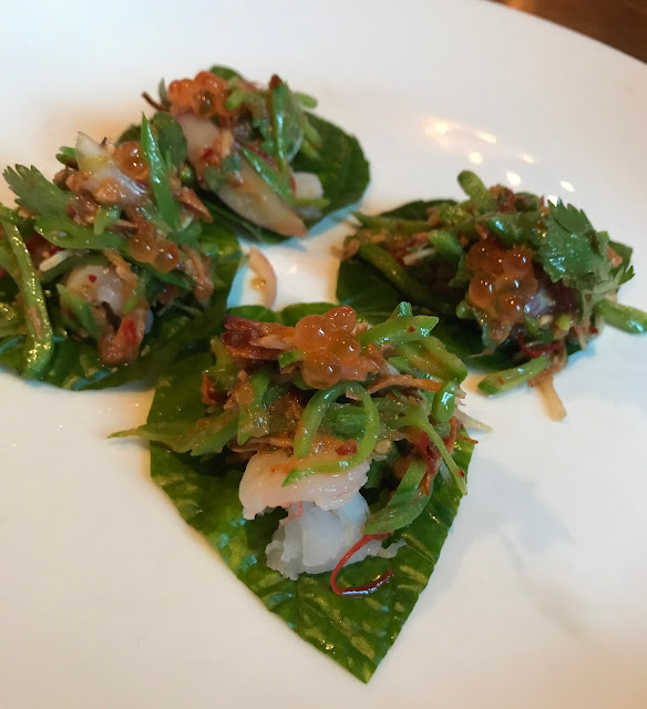 Longrain, Melbourne, betel leaves