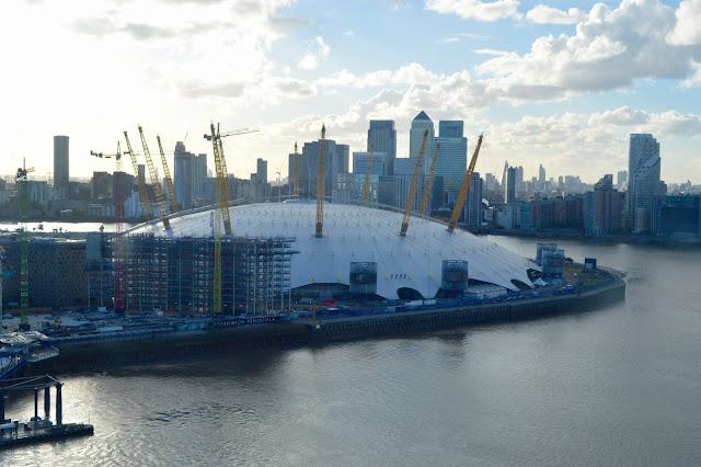 O2 arena view