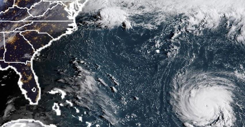 ESTADOS UNIDOS: Poderoso Huracán Florence obliga declarar en emergencia al Estado de Maryland - EE.UU.