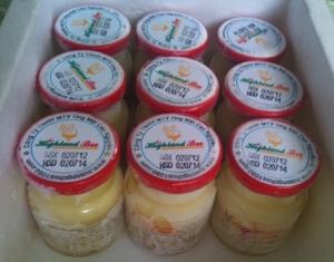 Bảng giá Sữa ong chúa Việt Nam xuất khẩu