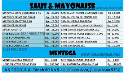 daftar-harga-saus-dan-mayonaise