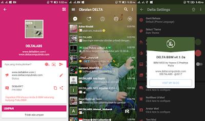 Download DELTA BBM v4.1.0a [BBM_v3.2.5.12] APK TERBARU