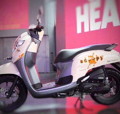 Honda Scoopy Playfull