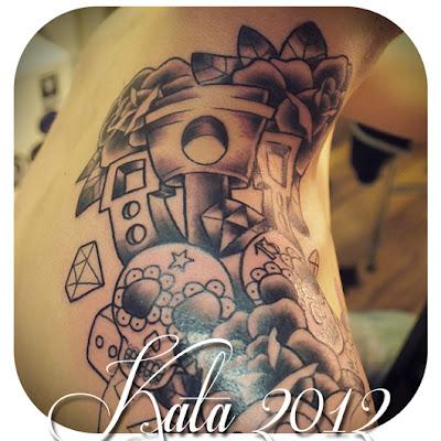 Tattoos by Kata Puupponen: marraskuuta 2012