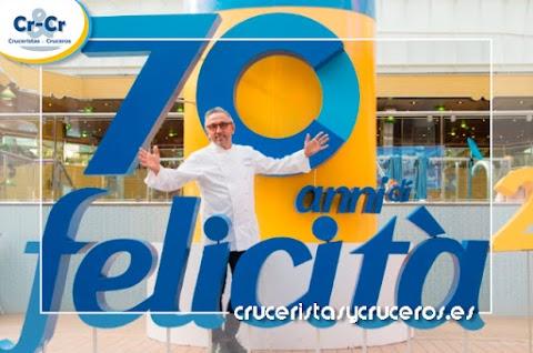 COSTA CRUCEROS CELEBRA 70 AÑOS DE FELICIDAD CON SUS HUESPEDES MES FIELES