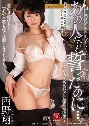 I Swore With Him Only ....~ Flesh That Gets Wet With Backwards To Her Husband ~ Sho Nishino [JUY-183 Sho Nishino]