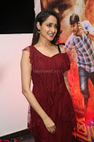 Pragya Jaiswal in Stunnign Deep neck Designer Maroon Dress at Nakshatram music launch ~ CelebesNext Celebrities Galleries 059.JPG