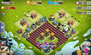 Kumpulan Update Base Konflik Kastil (Castle Clash) Terkuat Untuk HBM