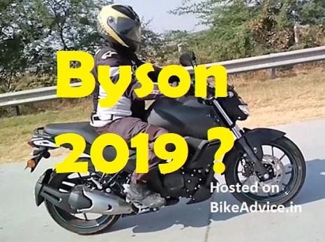 Snap Yamaha Byson 2019