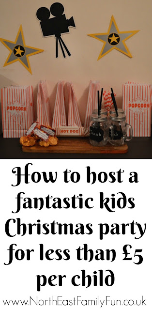 How to host a fantastic kids Christmas party for less than £5 per child