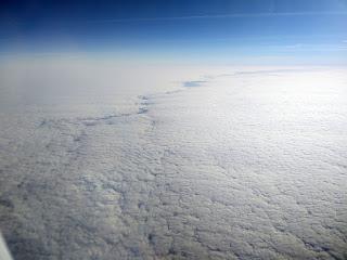 A rift in the clouds