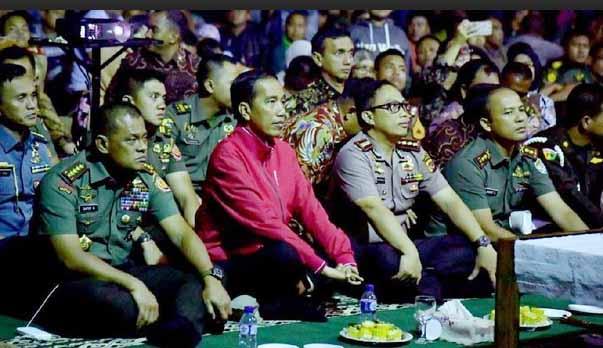 Usai Nobar G30S/PKI, Jokowi: Jangan Beri Ruang PKI, Pegang teguh Pancasila