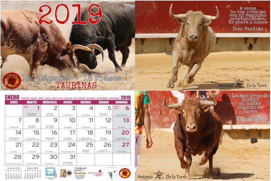 Calendario Taurino 2019 15 Imágenes Y 15 Frases Taurinas