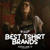 64 Brand Baju Kaos Terbaik dan Terkenal di Berbagai Kalangan & Negara