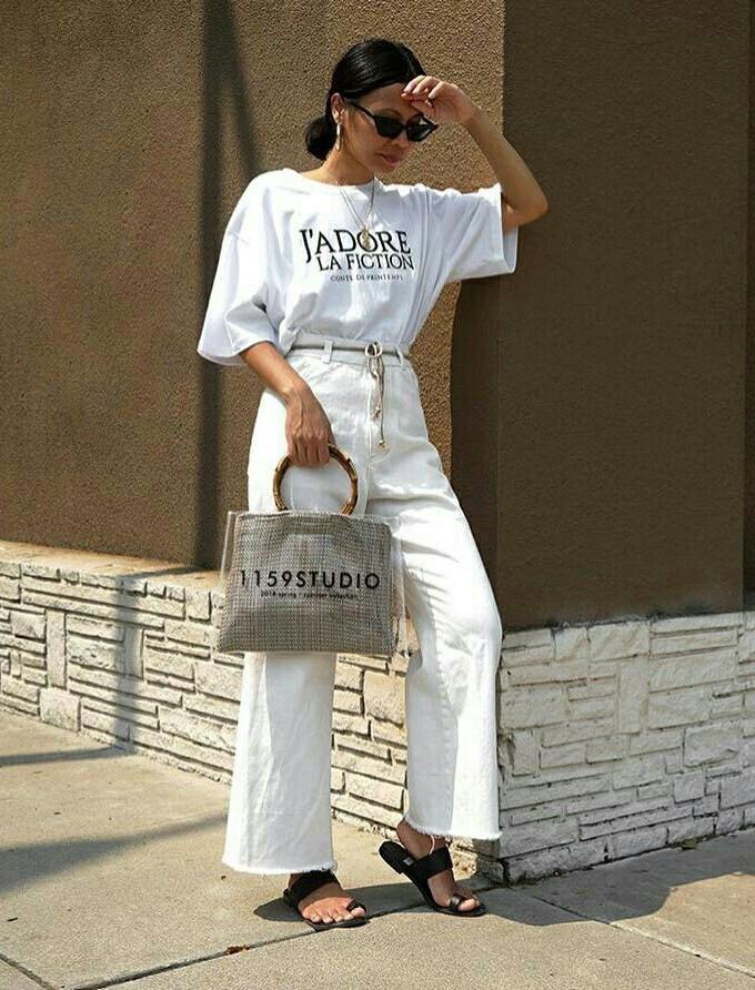 Looks brancos inspiradores para primavera e verão