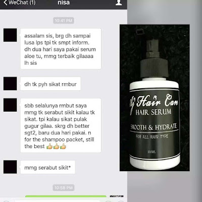 testimoni AJ Hair Care