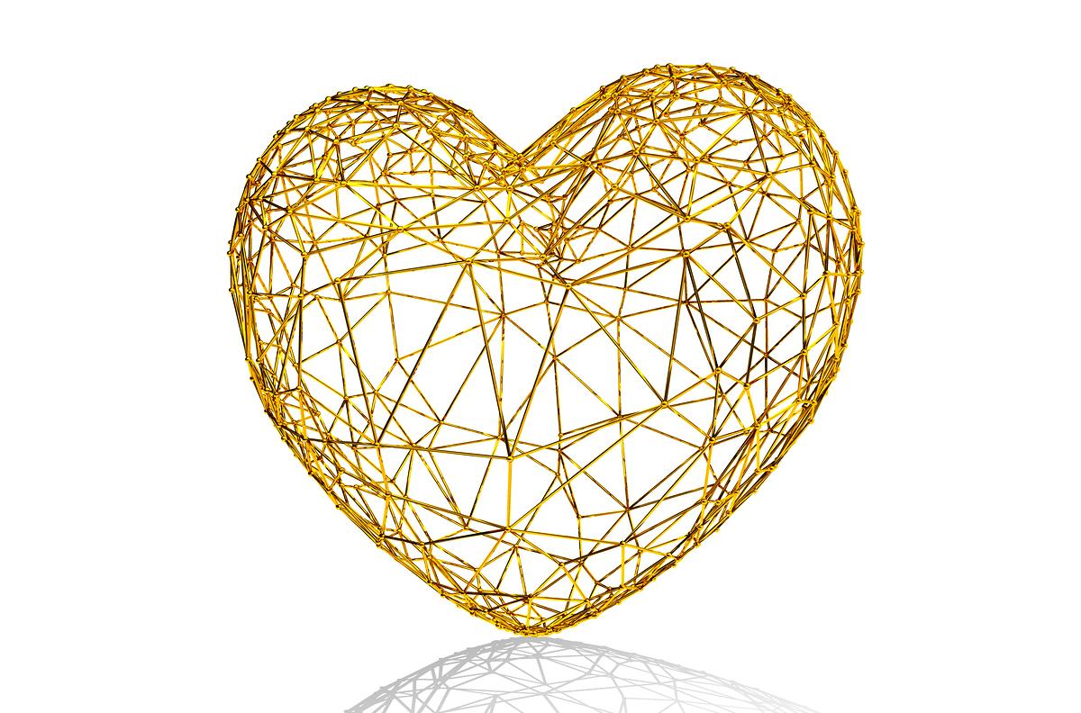 hati emas bukan payung emas