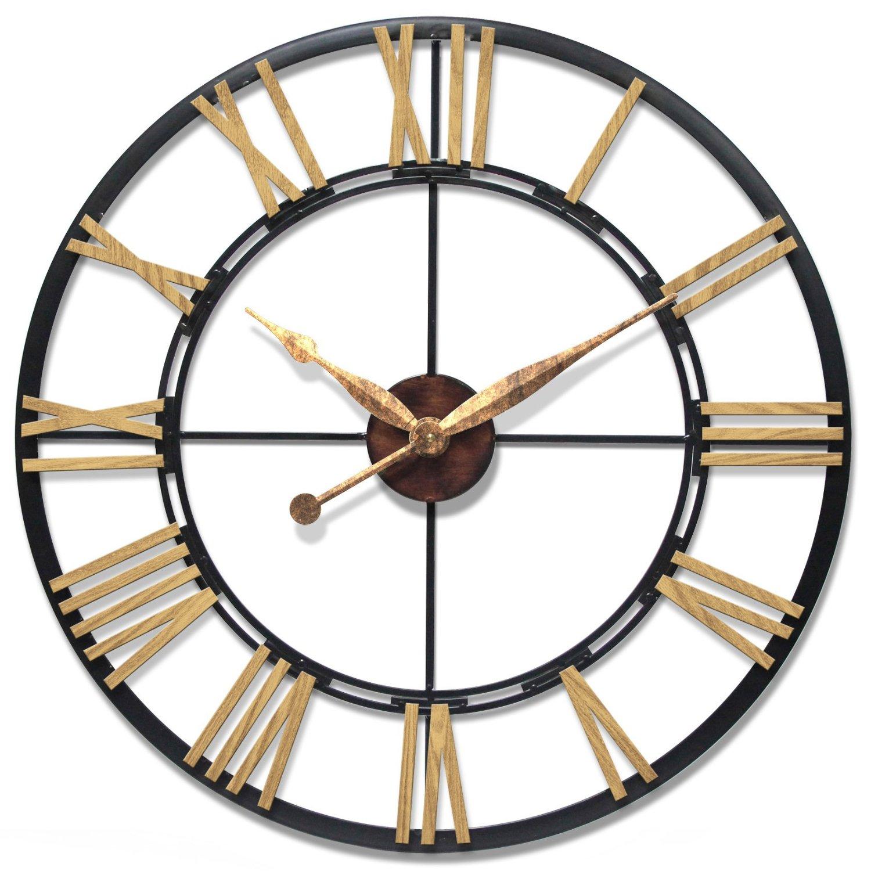 Oversized & Giant Metal Wall Clocks
