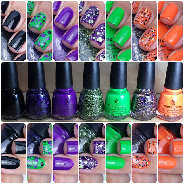 China Glaze Halloween 2015 Ghouls Night Out Collection